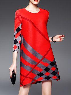 30d7003fc5d9 Simple Pleated Shift Dress   pretty little frocks   Pinterest ...