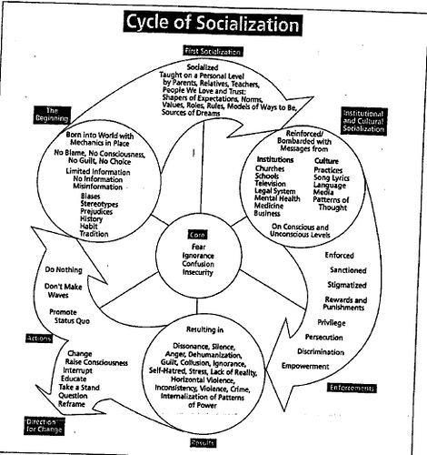 "personal gender socialization ""becoming a member of society through socialization people without personal contact gender role expectations upon socialization in."