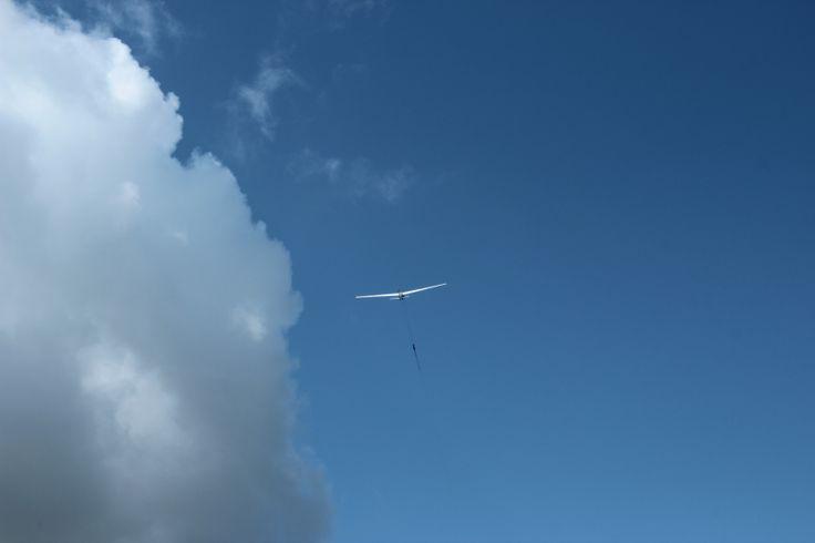 In the sky...