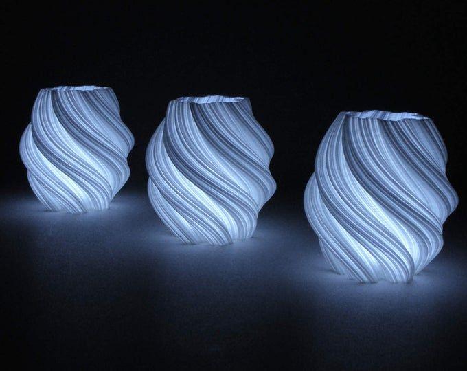 Modernes Licht Schlafzimmer Licht Fraktal Kunst Luminary 3d Gedruckt Led Lampe Interior Design Moderne Lampe Stimmung Licht Moderne Kunst Geschenk Vas In 2020 Modern Bedroom Lighting Mood Light Modern Lamp