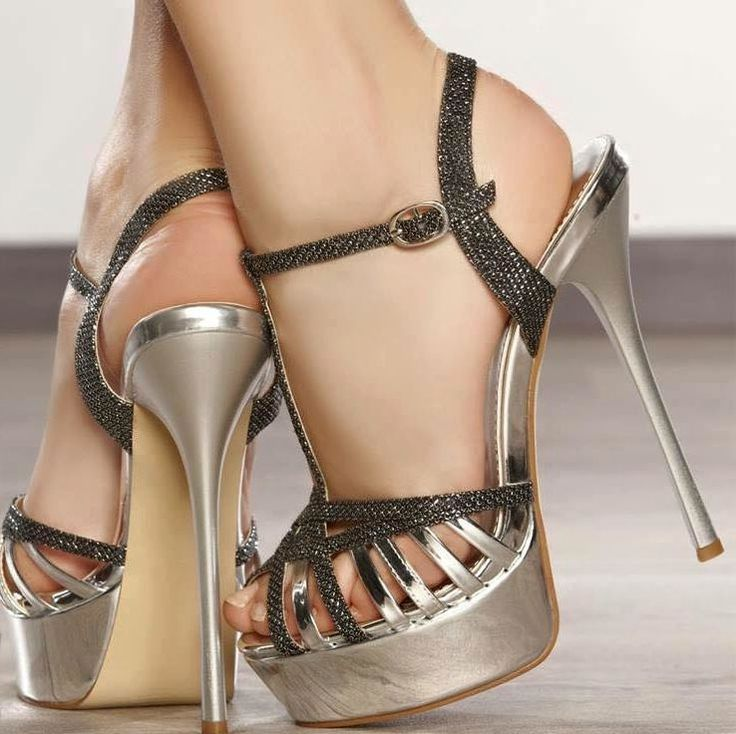 Women Sexy Shoes Gold Platform Peep Toe Cut Out Lace Up Stiletto Heel Sandals