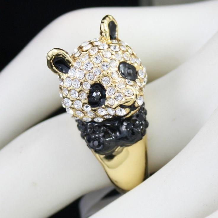 Panda ring! LOVEEEEE IT