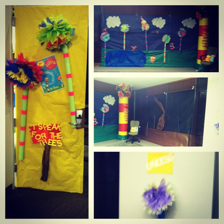 Lorax Classroom Decor ~ Best images about the lorax theme classroom on