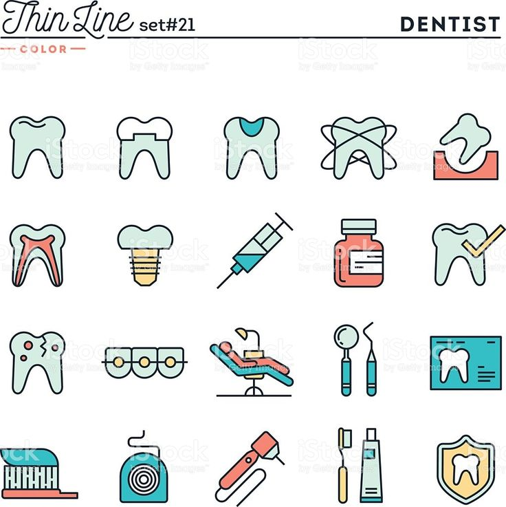 Dentist, dental care, healthy teeth, protection and more royalty-free stock vector art