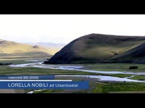 L'intervista alla stilista Lorella Nobili durante il suo viaggio ad Ulaa...