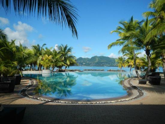 Main area and pool (Melissafifi, Jan 2013)  Heaven on earth! - Sainte Anne Resort & Spa - Seychelles