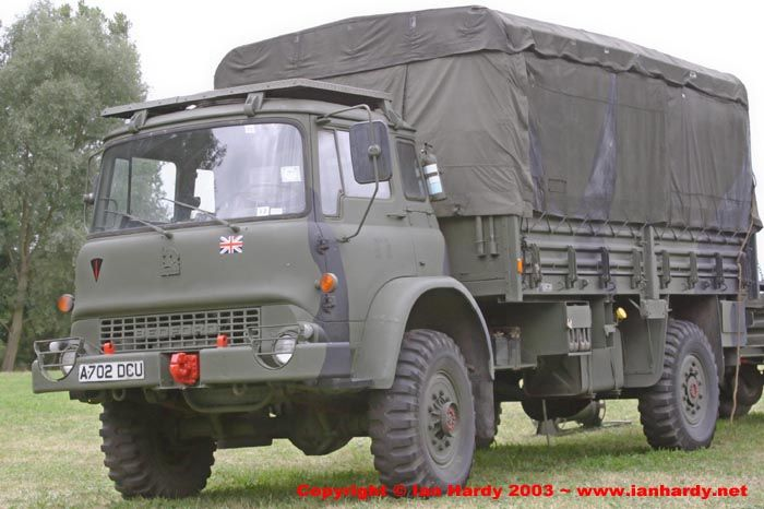 1983 Bedford MK GS 4x4 Truck