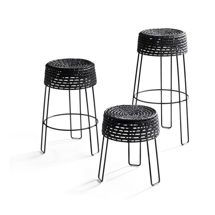 Zulu mama stools    Designer: Haldane Martin    The iconic zulu mama stools are an integration of south africa's first and third world reality by combining indigenous zulu basket weaving craft with modern materials.