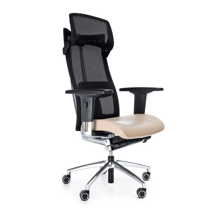 Action Mesh Back Office Chair with Headrest
