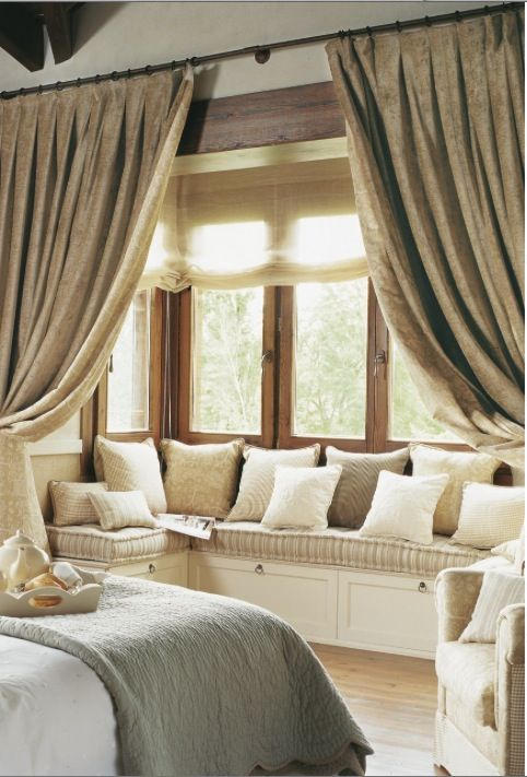 Best 25 Window Seat Curtains Ideas On Pinterest Bay