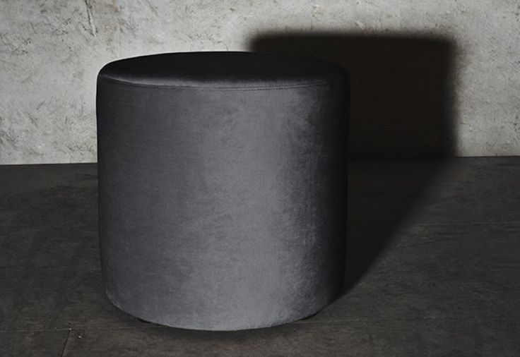 Layered's Petite Pouf  Smoky Gray, a truly chic pouf in a small size, yet giving a great impression. Delivered within 6-8 weeks. Europe Free Shipping. See more at: http://layeredinterior.com/product/petite-pouf/