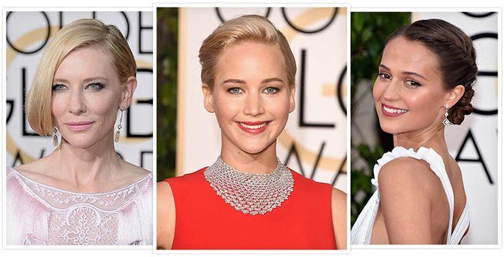 Semi joias e joias do Golden Globe Awards 2016