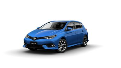 Toyota Corolla ZR Hatch in Blue Gem