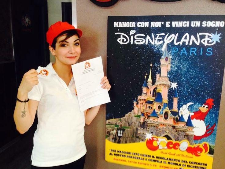 Mangia con Noi e vinci un sogno  #DisneylandParis