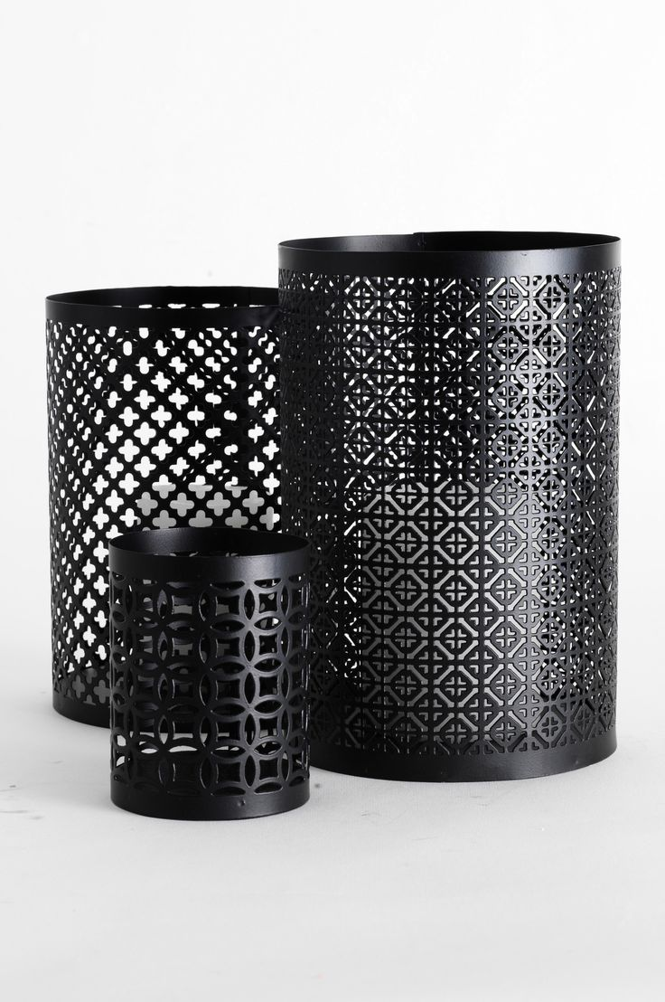 Marocco-kynttilälyhdyt, 3/pakk.