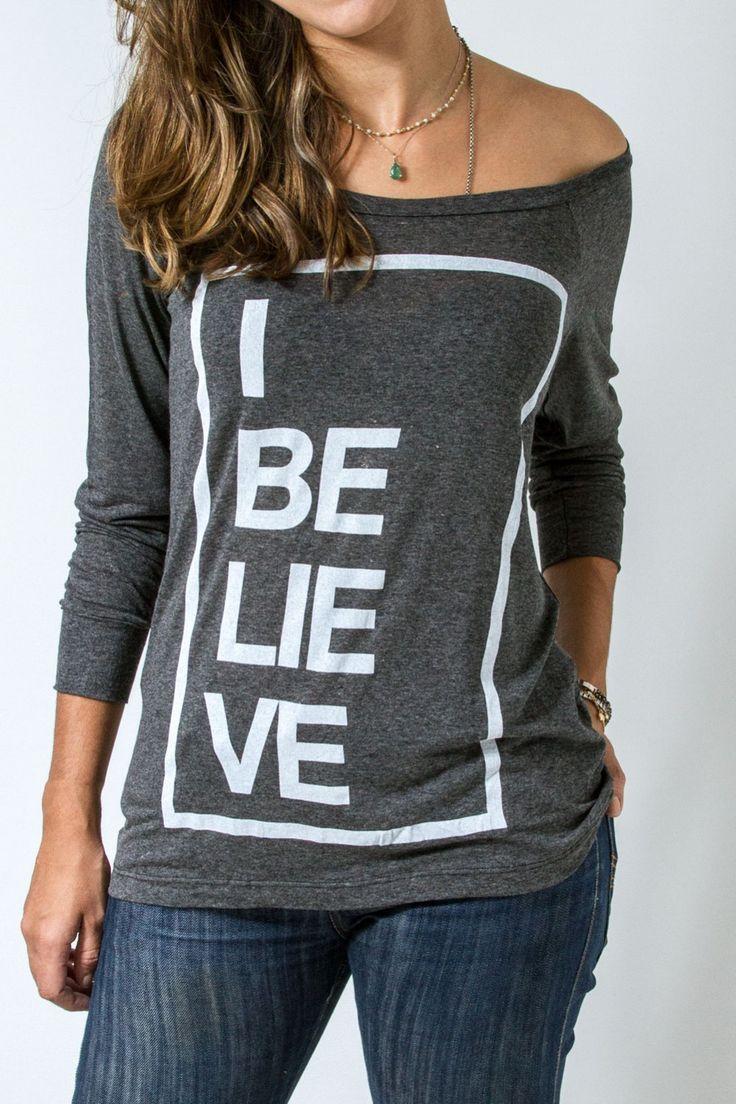 Camiseta - I Believe                                                                                                                                                      Mais