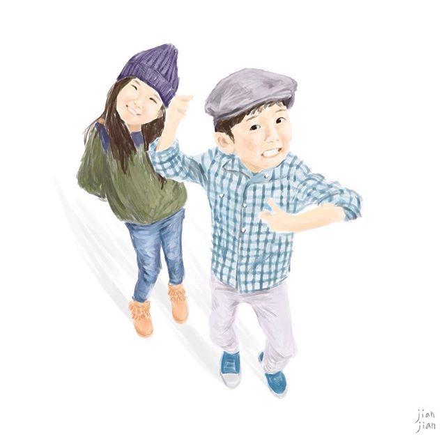 Kid wear illustration   By @chelsea_jesper   #kidwear #painter #drwaing #artwork #illustrator #ootd #wear #kid #fashion #instagood #instaart #art #artwork #illustration #twins #jesper #lovely #cute #happykids #kidsfashion #kidfashion #kidlife #jianjian #taiwan #painter #見見 #插畫 #outfit