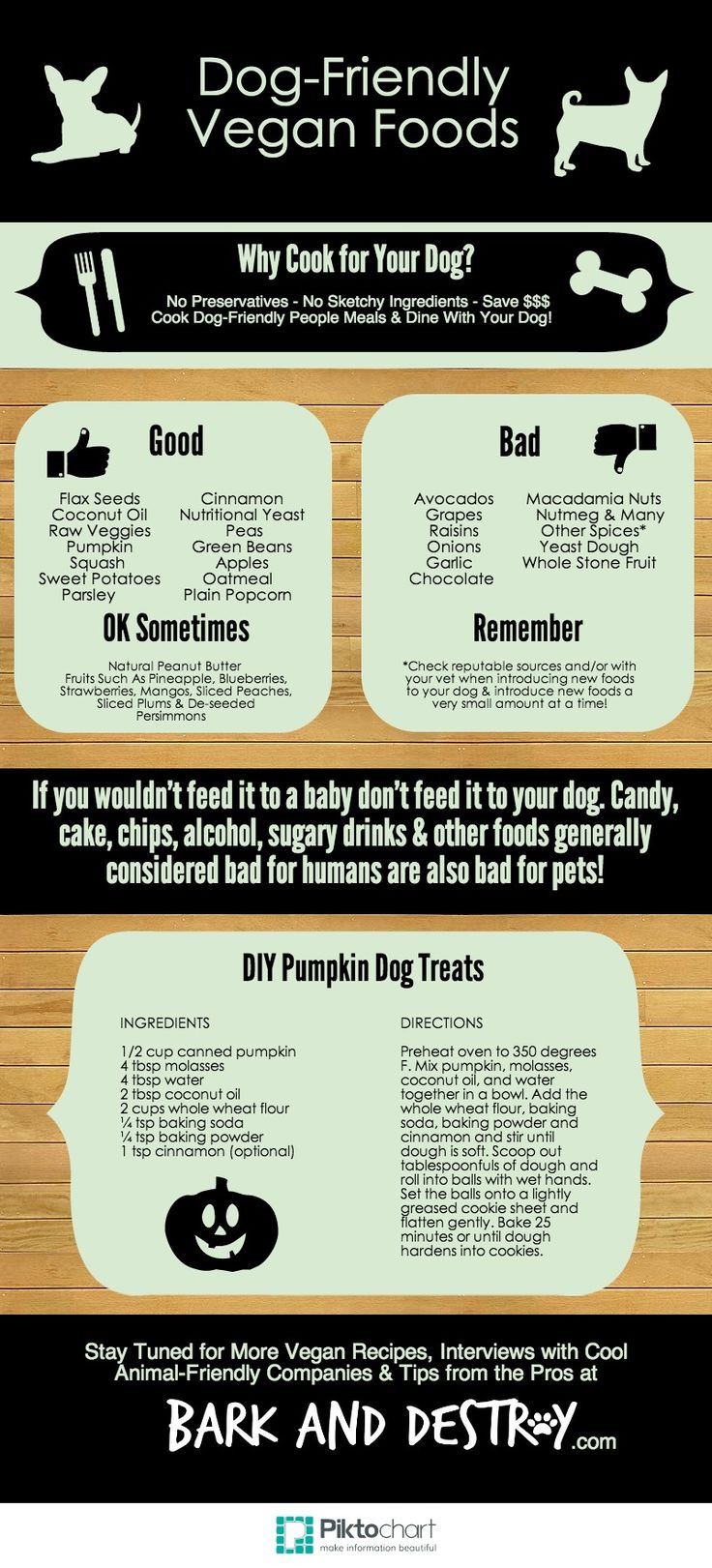 "Update: Before you fire off an angry comment we'll both regret, please read About Bark and Destroy to clear up any misconceptions you may have about us trying to ""make"" your dog go vegan. Hello peo..."