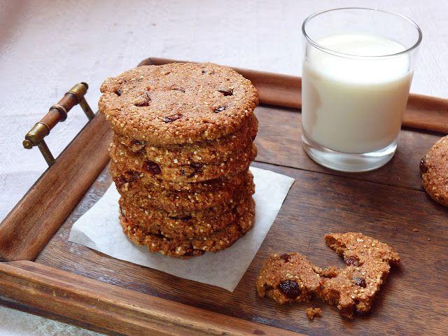 Vöröskaktusz diétázik: Mazsolás amarántos keksz (vegán)