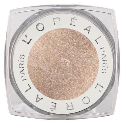 L'Oreal Infallible 'Iced Latte' Eye Shadow ~ 1/3 price makeup dupe of popular Stila 'Kitten' Eye Shadow #makeupdupe #makeup #dupes