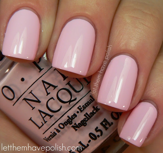 MY TOP PINK NAIL POLISH COLOURS!  Mod About You by OPI  Love