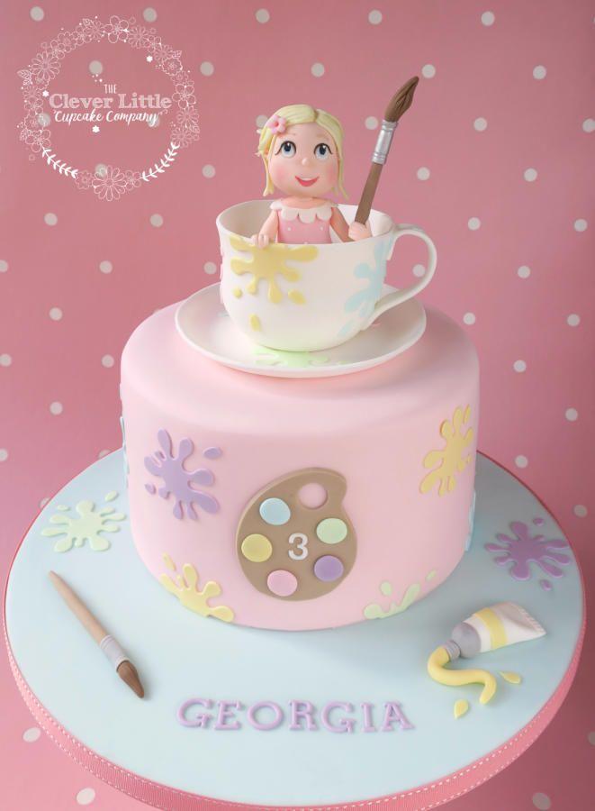 Best 295 art cakes images on pinterest beautiful cakes for Cake craft beavercreek ohio
