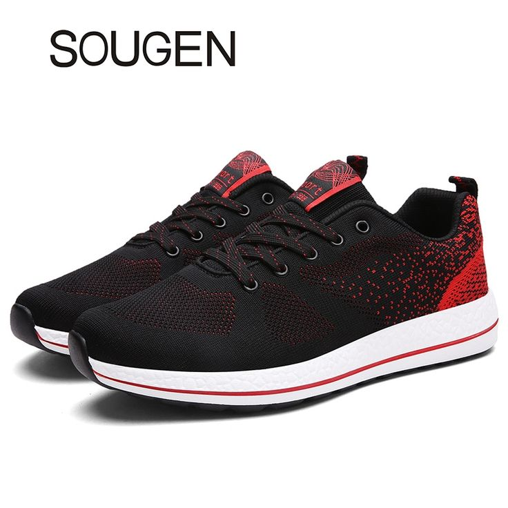(41.26$)  Watch more here  - Hot Sales Men Casual Shoes Luxury Men Shoes Air Mesh Shoes Men Sport Brand Designer Mens Trainers Cheap Red Bottom Shoes for Men