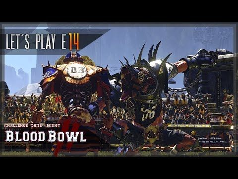 New video is up: Challenge Game kNight - Blood Bowl 2 - PvP vs. Futumsch - Let's Play E14 [Khemri] [Skaven]