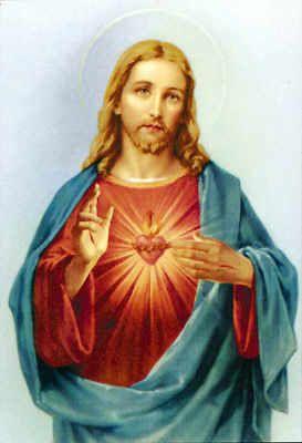 jezus ook zwaar last van gebroken hart