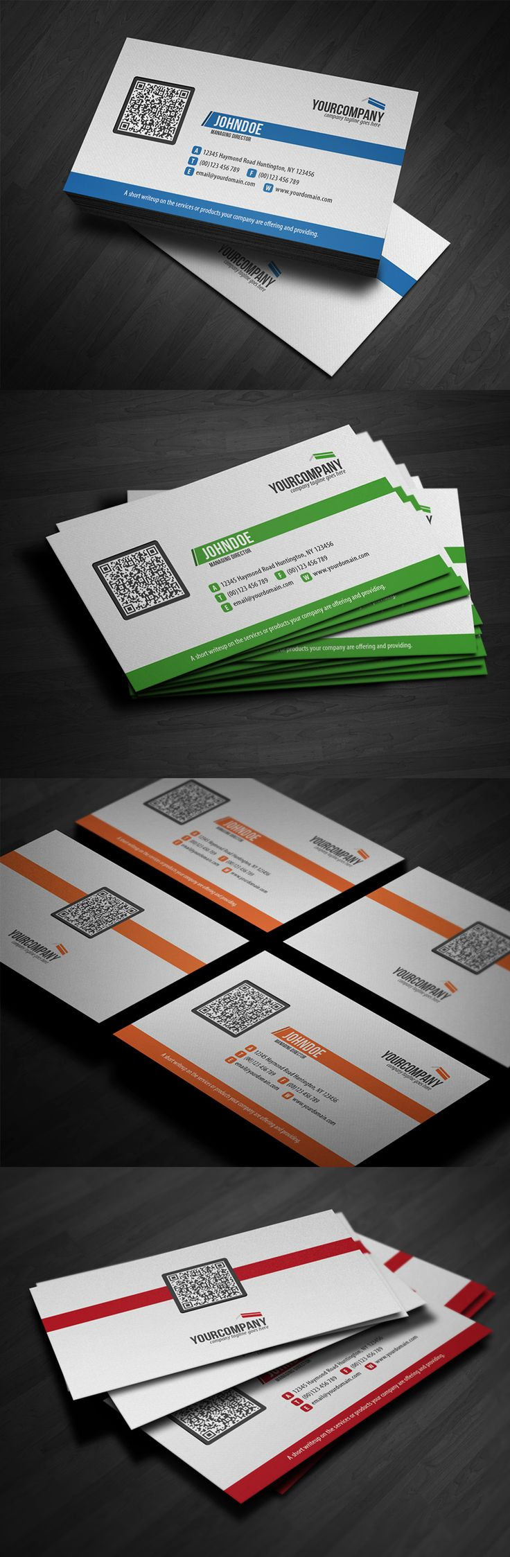 14 best qr code business cards images on pinterest qr code corporate qr code business card v3 by glenngoh on deviantart httpwww magicingreecefo Choice Image