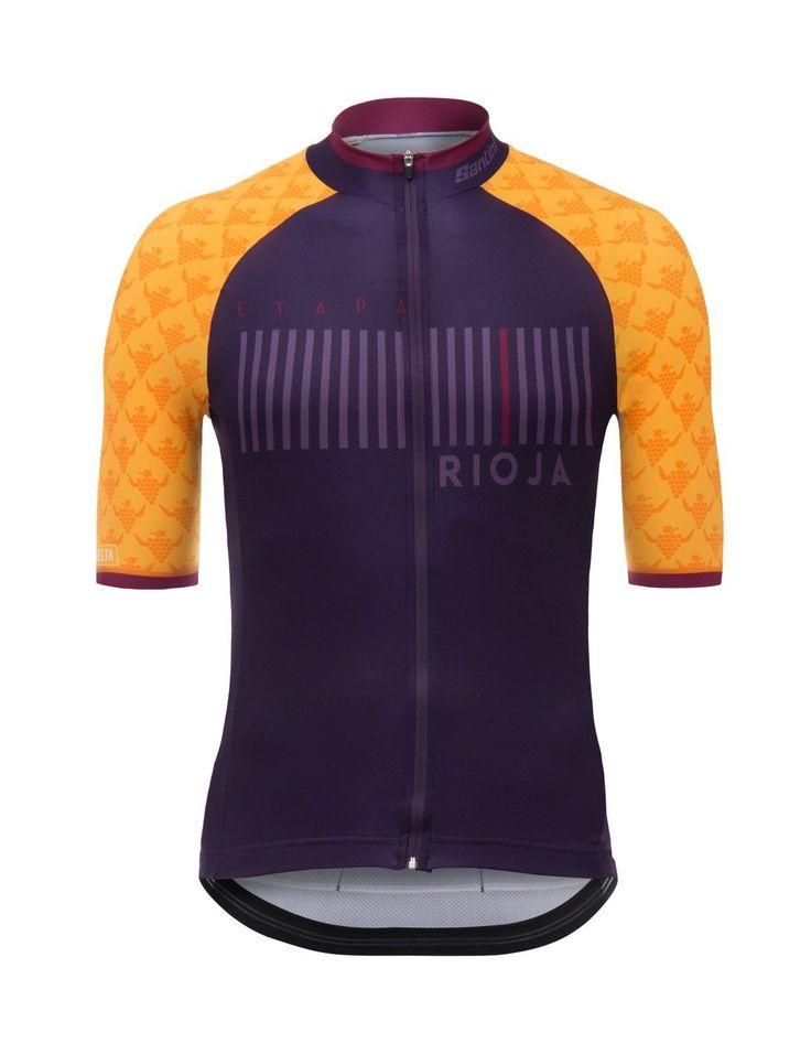 2017 La Vuelta a Espana Rioja Cycling Jersey: Made in Italy by Santini