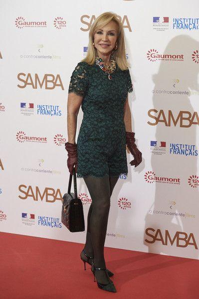 Carmen Lomana Photos: 'Samba' Madrid Premiere