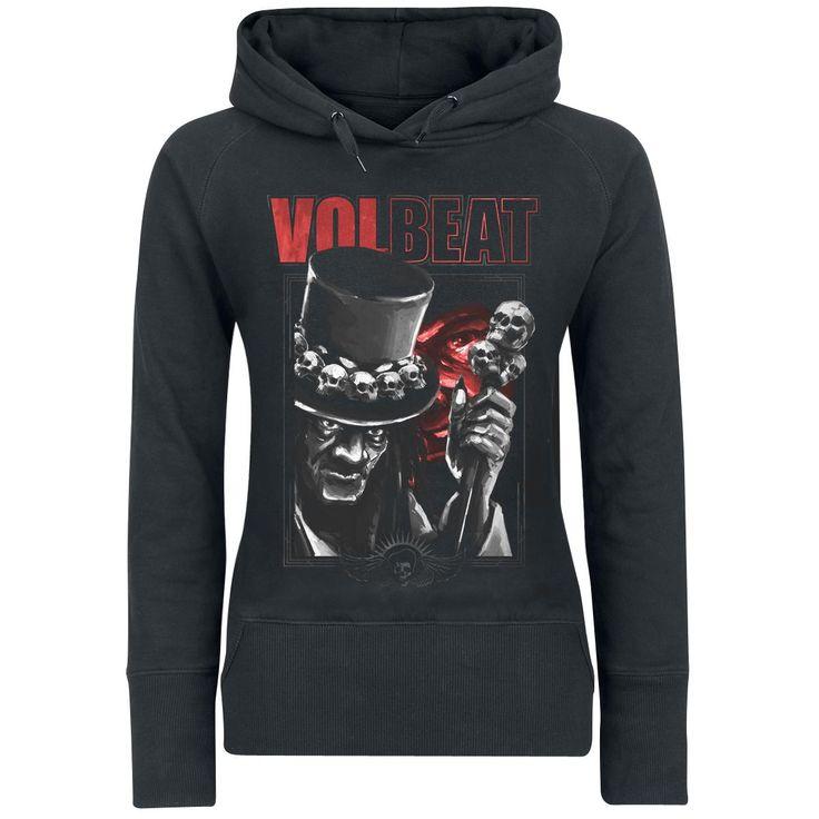 "Felpa donna ""Papa Legba"" dei #Volbeat."
