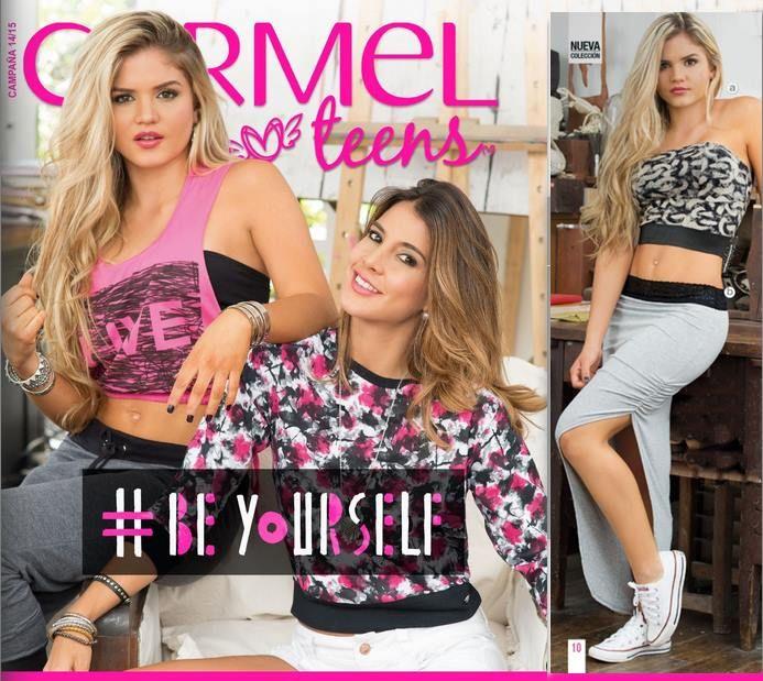 Catalogo Carmel Teens Campaña 14 2015