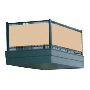 Beige Balcony Privacy Cover $35 Home Hardware