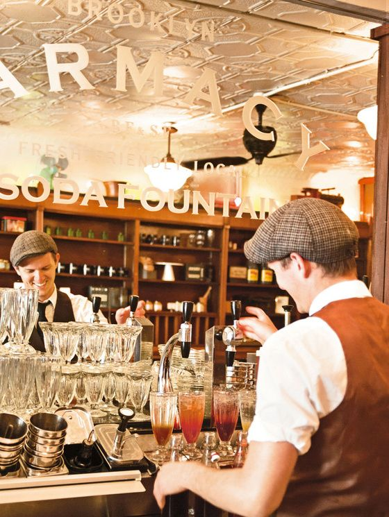 Les meilleurs restaurants de New York brooklyn farmacy
