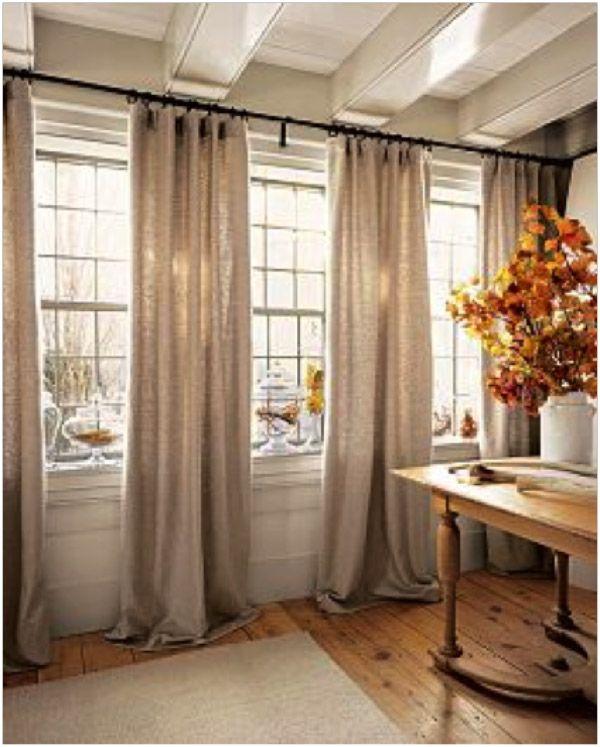 25+ Best Large Window Curtains Ideas On Pinterest