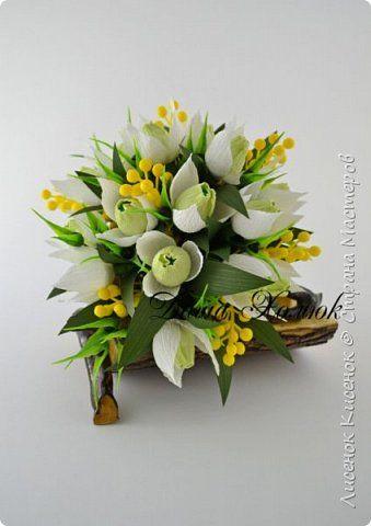 Свит-дизайн 8 марта Март Бумага гофрированная Продукты пищевые фото 67