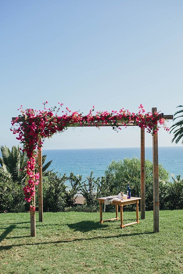 243 best bali wedding decor inspo images on pinterest bali a bel air bay club wedding with pink bougainvillea by sarah sotro photography junglespirit Images