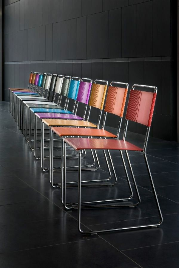 Estrosa stackable chairs Archiproducts