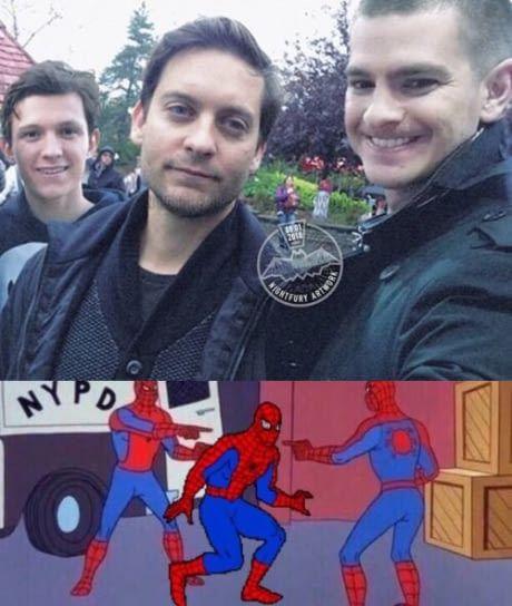 Spiderman Spiderman Spiderman