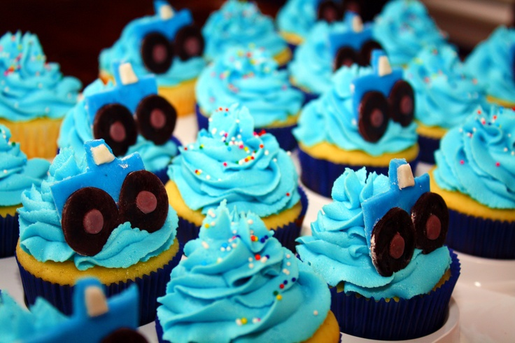 Monster Truck Cupcakes 05-07-11