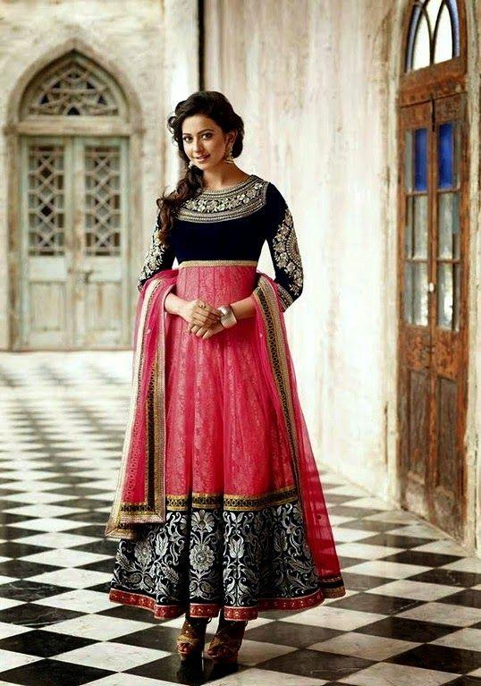 Gorgeous. Shraddha Kapoor | Anarkali Dress Collection 2014 - She9