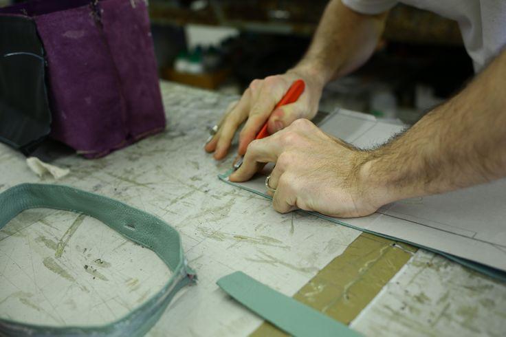 Handmade leather luxury goods