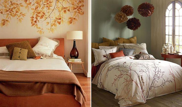 herfst in je slaapkamer | slaapkamer | pinterest, Deco ideeën