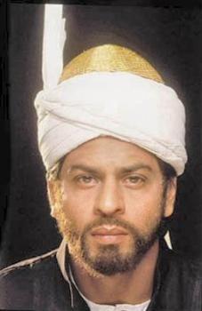 Shah Rukh Khan as Amjad Khan - a very brief cameo in Hey Ram (2000)