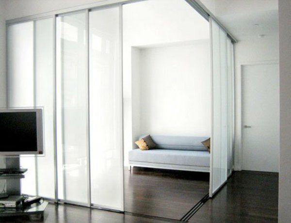 schiebet ren als raumteiler mehr privatheit in der kleinen wohnung zuk nftige projekte. Black Bedroom Furniture Sets. Home Design Ideas
