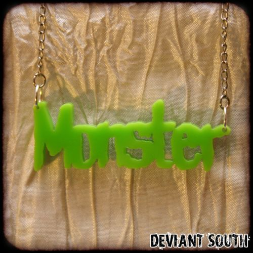 Monster Necklace by Deviant South Avant-Garde Boutique, for sale on http://hellopretty.co.za