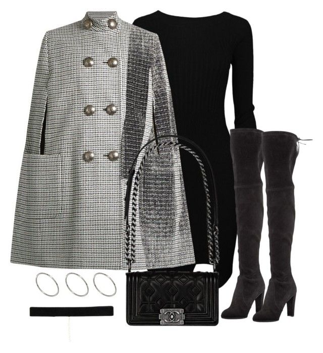 """Untitled #3605"" by theeuropeancloset on Polyvore featuring Alexander McQueen, Stuart Weitzman, Chanel, ASOS and Bartoli"
