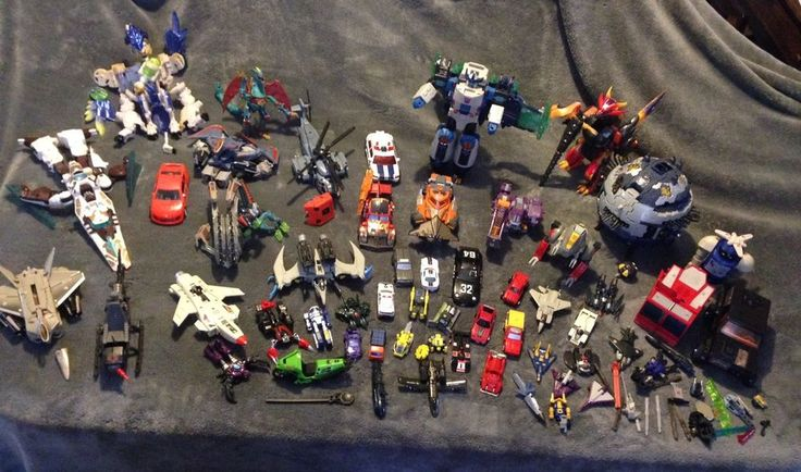 Huge Lot Of Transformers Toys Gen 1, 2 & 3 Over 65 Pieces  | eBay